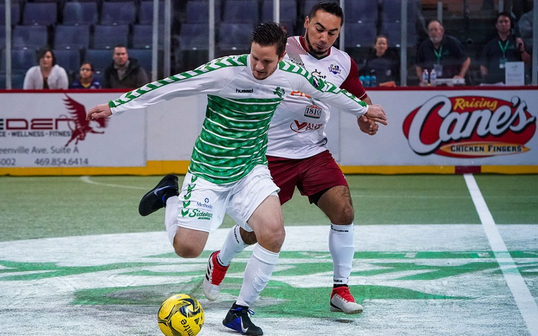 Logra Flash victoria de visita sobre Dallas Sidekicks