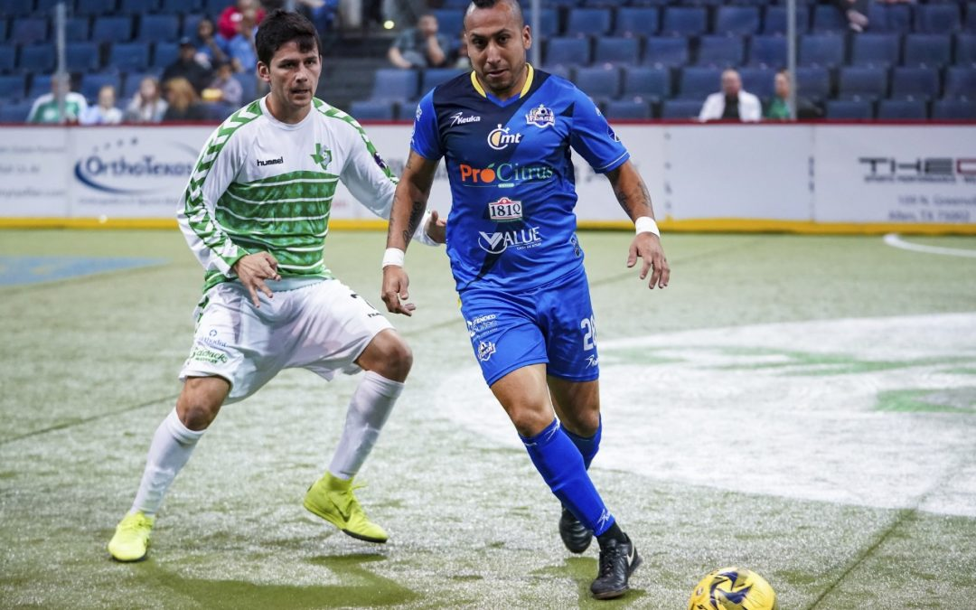 Pierde Flash el paso frente a Dallas Sidekicks