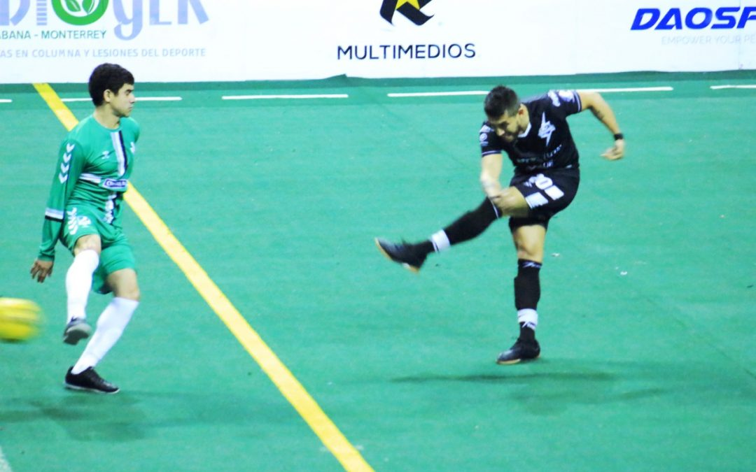 Flash de Monterrey mantiene su invicto en casa tras pegarle 12-3 a Dallas Sidekicks